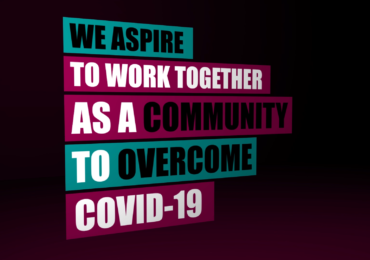 We aspire to work as a community to overcome COVID-19