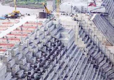 Ethiopia's Grand Renaissance Dam takes shape