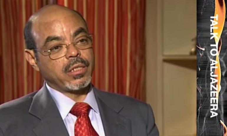 Meles Zenawi Talk to Al Jazeera