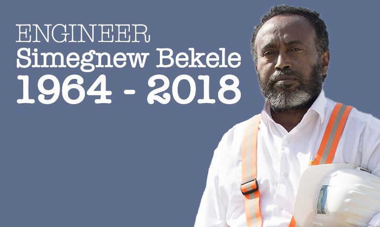 Remembering Engineer Simegnew